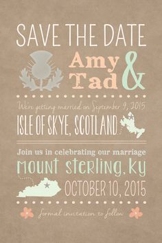Destination Wedding. Stateside Reception. DIY Printable Template. Fully Customizeable. Etsy $24.