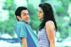 Aamir Khan and Priety Zinta from Dil Chahta Haiy - lbollywood movie must watch