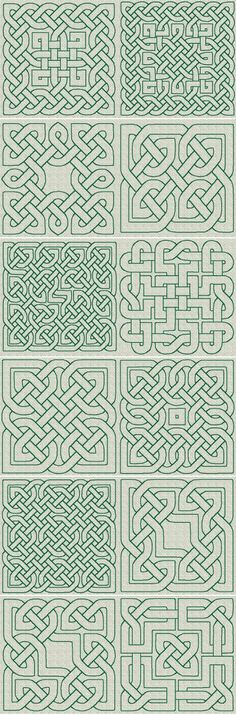 The Country Needle Embroidery Designs® Celtic Knotwork RW Series 02 [Series - Celtic Knotwork- Series 02 This set is available in either the & sizes Celtic Quilt, Celtic Symbols, Celtic Art, Celtic Knots, Mayan Symbols, Celtic Patterns, Celtic Designs, Blackwork Embroidery, Embroidery Patterns