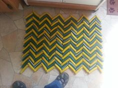 Upcycle Garden Hose Mat I Know What To Do With My Old Hoses