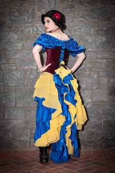 Steampunk Costume Inspired by Snow White by SilverLeafCostumes