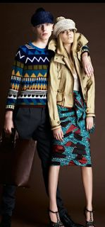 African Prints in Fashion: Burberry goes African Print