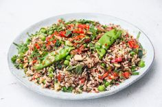 Wild Rice and Pea salad - DeliciouslyElla
