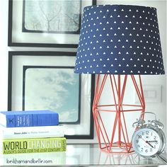 DIY Fabric Lamp Shad