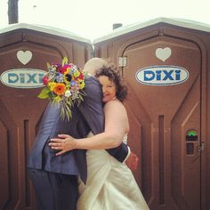 Most bizarre wedding picture ever