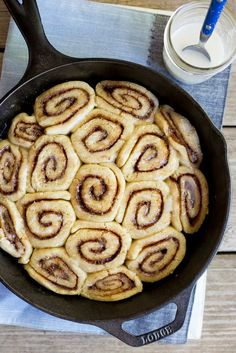 These are the best gluten free cinnamon rolls! They're soft, fluffy and so delicious! They're also vegan! Perfect for a special breakfast!