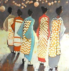 """Five Geisha"" by Mary Pratt http://www.ugallery.com/mary-pratt"