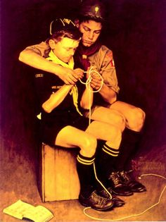 The Daily Flag » Blog Archive » Norman Rockwell's Boy Scouts