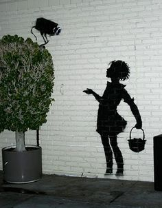 STREET ART BY BANSKY