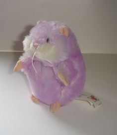 Ganz Webkinz Petunia The Amazing Hamster First Edition Plush Only No Code #GANZ