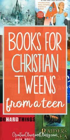 Check out these inspiring books for Christian tweens, designed to help them grow in character and in faith!