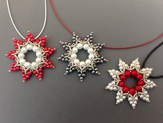 Beading Needles, Tree Pendant, Bead Store, Xmas Tree, Beautiful Patterns, Round Beads, 1 Piece, Seed Beads, Instagram