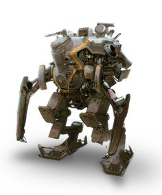 Rusty Mech by ~sundragon83 on deviantART