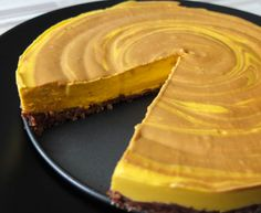 Raw mangový dort s vlašskými ořechy Raw Vegan, Sushi, Gluten Free, Pie, Vegetarian, Manga, Cooking, Health, Vegan Cheesecake