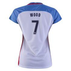424cd2262 2016 Bobby Wood Jersey Home Women s USA National Team Soccer City