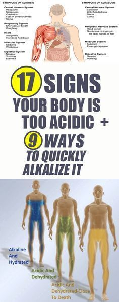 Signs your body is too acidic, and here's what to do to alkalize it
