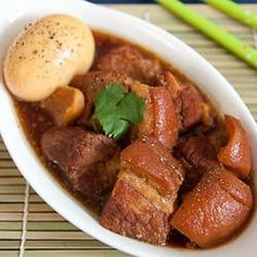Vietnamese Braised Pork And Eggs In Coconut (thit kho)