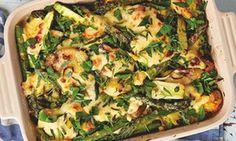 spring vegetables with lemon béchamel / yotam o