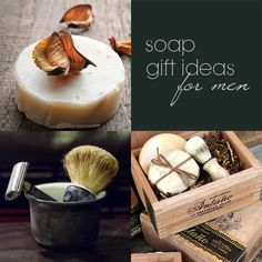 DIY (recipes)  Soap Gift Ideas For Men.. great idea for holiday gifts!
