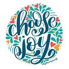 Silhouette Design Store - Choose Joy Cut File by Dawn Nicole Designs Creative Lettering, Brush Lettering, Lettering Design, Alphabet, Calligraphy Quotes, Calligraphy Practice, Lettering Tutorial, Choose Joy, Typography Letters