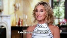 Sonja Morgan keeps me laughing every episode of RHONY