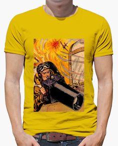 Camiseta Fotógrafo de guerra A