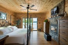 Custom Craftsman - Master Bedroom