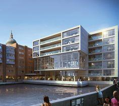 Westin Hotels & Resorts ouvre un premier hôtel au Royaume-uni London View, Tower Of London, Hotel Architecture, Architecture Design, Hotel Rewards, Open Hotel, Premier Hotel, Glass Facades, Treatment Rooms