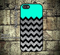 Glitter Print Chevron iPhone 5 case, iPhone / 4 case hard plastic or silicon rubber (Not Actual Glitter). So cute for my new phone Iphone 5 Cases, Cute Phone Cases, Iphone 4s, Apple Iphone 6, Ipod 5, Cool Cases, Iphone Accessories, Coque Iphone, Phone Covers