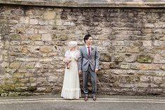 A Bride Who Wore Her Mum's 1980's Wedding Dress. Photography by kirstenmavric.co.uk