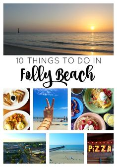 Ideas of where to eat, what to do, where to shop, things to see, where to stay, and how to enjoy your trip to Folly Beach, South Carolina.
