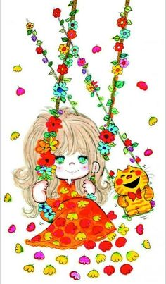 Retro Art, Women Life, Sanrio, Anime, Glamour, Fictional Characters, Vintage, Feminine, Anime Shows