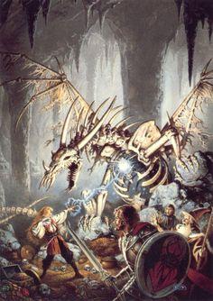 Clyde Caldwell | Fantasy Art