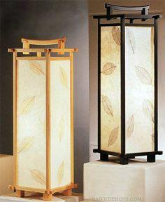 Японские фонари. Japanese lanterns. Японские лампы и светильники. Японские светильники своими руками.