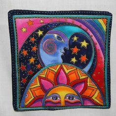 laurel burch sun and moon