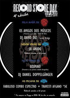 Día das tendas de discos en Peggy Records, Ourense #RecordStoreDay