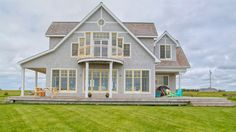 108 Gordons Way, Augustine Cove, PEI. Waterfront Beach House with large ...