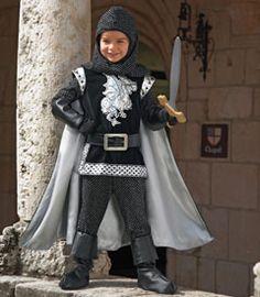 personalized brave silver knight costume