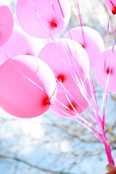 We're sure to have pink balloons at the Pink Party. #PiedmontArtsPinkParty