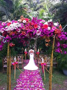 Magenta Wedding Flowers | ~MAGENTA WEDDING~