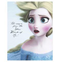 """No escape from the storm inside of me"" #frozen #Disney #olaf #elsa"