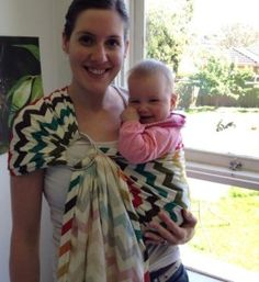 Sewing: DIY Ring Sling - for babywearing - Young Catholic Mums