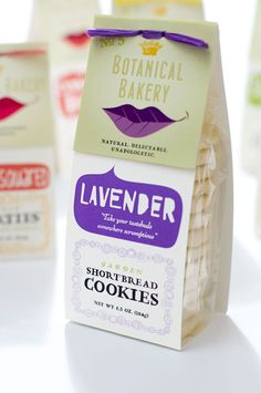 Bakery packaging often falls into the realm of the predictable and over done, not this time. Botanical Bakery have taken bakery packaging to the next level. Bakery Branding, Bakery Packaging, Cookie Packaging, Food Packaging Design, Packaging Design Inspiration, Brand Packaging, Dessert Packaging, Design Ideas, Shortbread Cookies