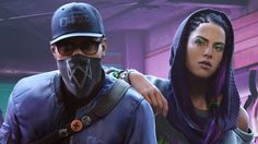 Marcus and Sitara Watch Dogs 2 Wallpaper