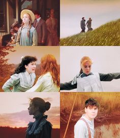 Anne of Green Gables (1985) - starring Megan Follows as Anne Shirley - one of my favourite movies and novels (by Lucy Maud Montgomery)