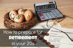 How to prepare for retirement in your 20s