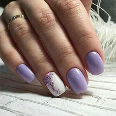 Make an original manicure for Valentine's Day - My Nails Spring Nail Art, Spring Nails, Red Nails, Hair And Nails, Simple Nail Designs, Nail Art Designs, Nails Design, Cute Nails, Pretty Nails