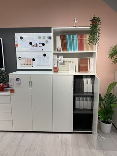 Small Home Office Furniture, Home Office Space, Office Spaces, Office Storage, Locker Storage, Ikea, Storage Ideas, Living Spaces, Room Ideas