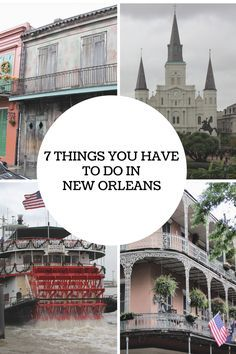 Planning a trip to New Orleans? Don't miss this list of the 7 things you have to do in New Orleans! This list will help to ensure that you have a great time in New Orleans! www.thattexascouple.com