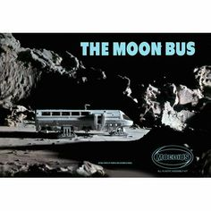 The Moon Bus, 1-50 Scale. The Moonbus is being reissued by Moebius Models. The kit is approx 1:50 scale and come with 5 astronaut figures, clear parts and measures about 9 inches long. Decals also included. Skill l..., #Toys, #Building Sets